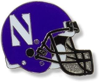 NCAA Northwestern Wildcats Helmet Pin