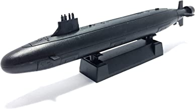 4D 1:700 Scale Virginia Class Submarine Battleship US Navy No.07 Miniature Toy Figure Model Kit