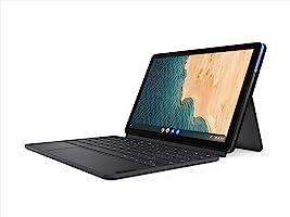 "Lenovo Chromebook Duet, 2-in-1, 10.1"" WUXGA (1920 x 1200) Display, MediaTek Helio P60T, 4GB LPDDR4X RAM, 64GB eMCP SSD,..."