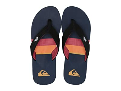 Quiksilver Molokai Layback (Black/Red/Blue 3) Men