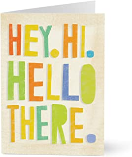 Hallmark Business Employee Welcome Cards (Welcomed Conversation Employee) (Pack of 25 Greeting Cards for Business)