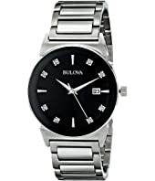 Bulova - Mens Diamonds - 96D121