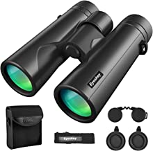 Eyeskey 8X42 Binoculars for Adults Compact Lightweight | Fully Waterproof & Fog-Proof |Wild Field of View | Low-Light Vision | HD Binocular for Wildlife Watching Hunting