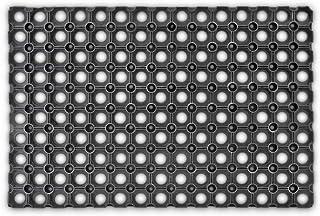 Relaxdays – Felpudo Antideslizante para la Entrada de su hogar Hecho de Goma/Caucho con Medidas 40 x 60 cm Elemento Decora...