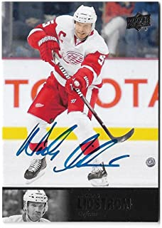 2013-14 Upper Deck Ultimate Collection 1997 Legends Autograph AL-58 Nicklas Lidstrom Detroit Red Wings