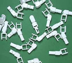 Asia Buy Blind Parts Vertical Blind Carrier Angled Clip/Hook/Stem - 5 pcs - No Carrier (5)
