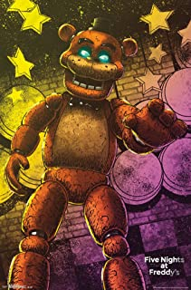 Trends International Five Nights At Freddys Classic Freddy Video Gaming Poster 22x34 inch