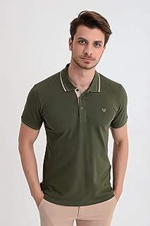 Basic Dinamik Fit Polo Yaka T-Shirt Çağla Yeşili