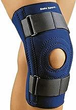FLA Safe-T-Sport Stabilizing Knee Support, Navy, Large