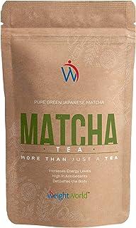 comprar comparacion Matcha Tea 100 gr | Té Matcha Ceremonial Japones, Polvo de Té 100% Natural, Dieta Detox Adelgazante, Aumenta Energía, Meta...