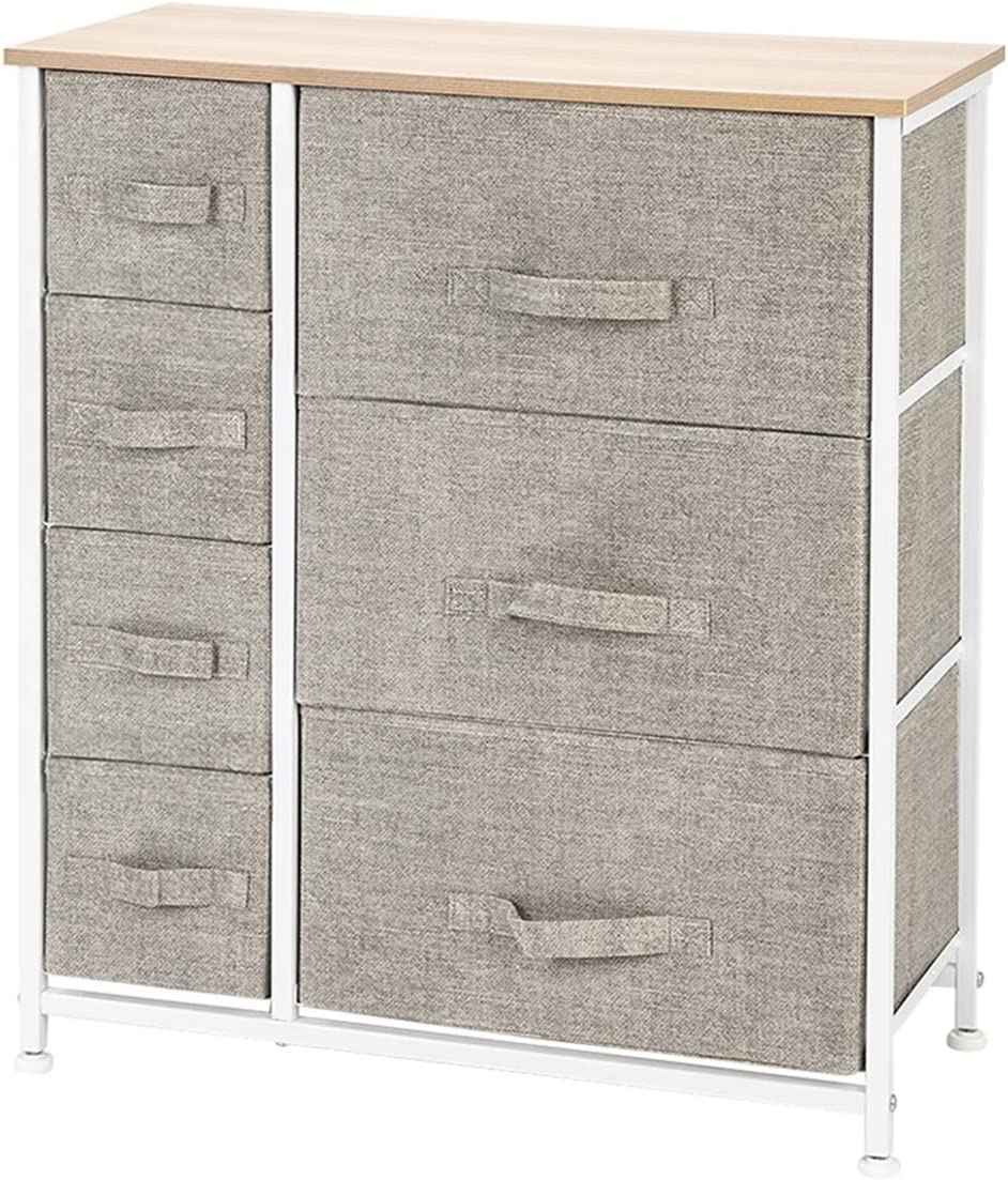 Home Furnishing Popular overseas Plaza Dresser with 7 Drawers - Storage Furniture Free shipping New