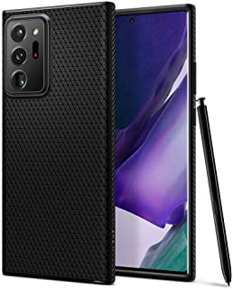 جراب Spigen لهاتف (Samsung Galaxy Note 20 Ultra) - مصنوع من مادة TPU خفيفة الوزن - حماية مضادة للصدمات - مضاد للانزلاق - د...