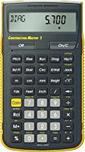 $69 » Calculated Industries 4050 Construction Master 5 Construction Calculator (Renewed)