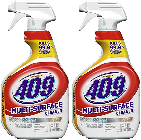 Formula 409 00628 2 Pack Antibacterial Multi Surface Cleaner 22 Oz Pack Of 2