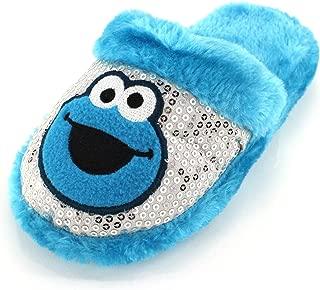 Sesame Street Cookie Monster Girls Scuff Slippers (Little Kid/Big Kid)