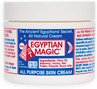 Egyptian Magic All Purpose Skin Cream | Skin, Hair, Hand/Foot, Eye Cream | 100% Natural Ingredients | 2 Ounce