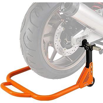 デイトナ バイク用 リヤスタンド 高さ3段階調整 L型&U型アタッチメント付属 耐荷重200kg アジャスタブル 97103