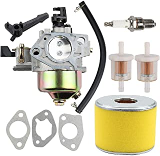 Allong 16100-ZF6-V01 Carburetor Air Filter Fuel Filter Line for GX340 GX390 13HP 11HP Engine Motor Generator Pressure Washer