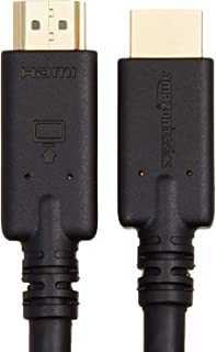 AmazonBasics High-Speed HDMI Cable, 35 Feet, 1-Pack with RedMere