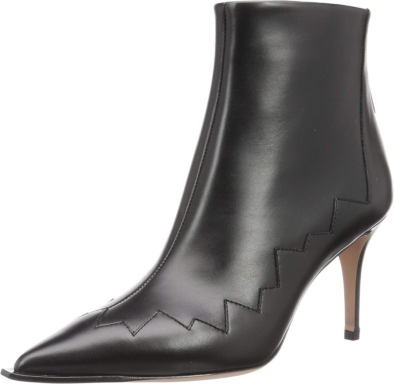 【ペリーコ】ファッションブーツ WIDE EDGE BACK ZIP SHORT BOOTS レディース ブラック