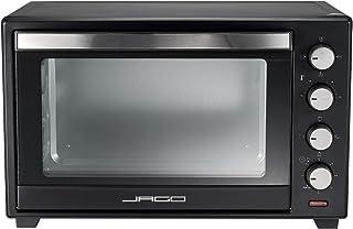 Jago® Mini Four - Capacité 60 L, 2000 W, Minuteur 0-60 min, 100-230°C, 6 Modes de Cuisson, avec Rôtissoire, Grille et Plaq...