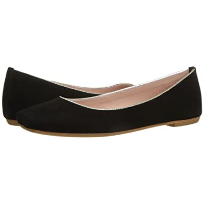 Summit by White Mountain Talisha (Black Square Suede) Women