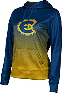 Ombre School Spirit Sweatshirt University of Wisconsin-Eau Claire Girls Zipper Hoodie