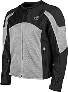 Speed & Strength Midnight Express Mesh Jacket (Large) (Silver)