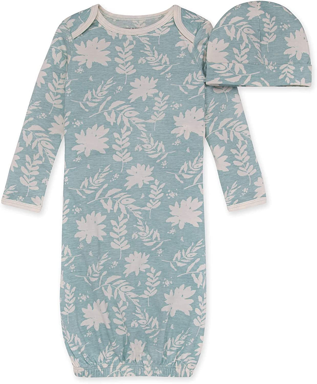 Burt's Bees Baby Baby Sleeper Gown & Hat Set