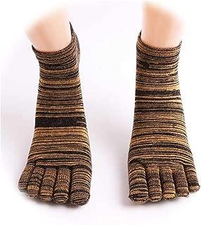 [Fairly]7 Colors Men Practical Casual Cotton Anklet Five Finger Socks Men Fashion Toe Breathable Soft Calcetines Hombre