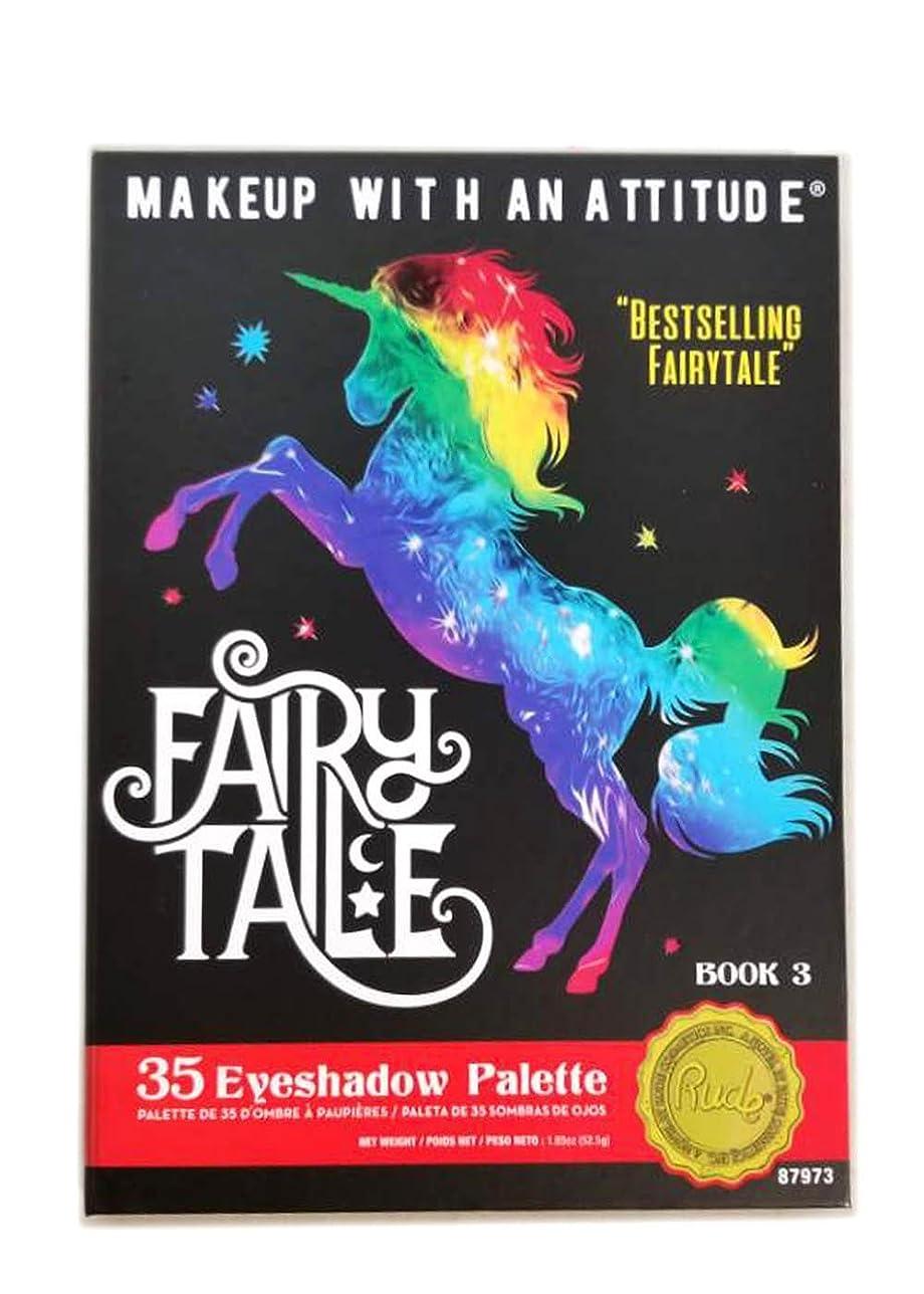 ジュース刃第二RUDE Fairy Tales 35 Eyeshadow Palette - Book 3 (並行輸入品)