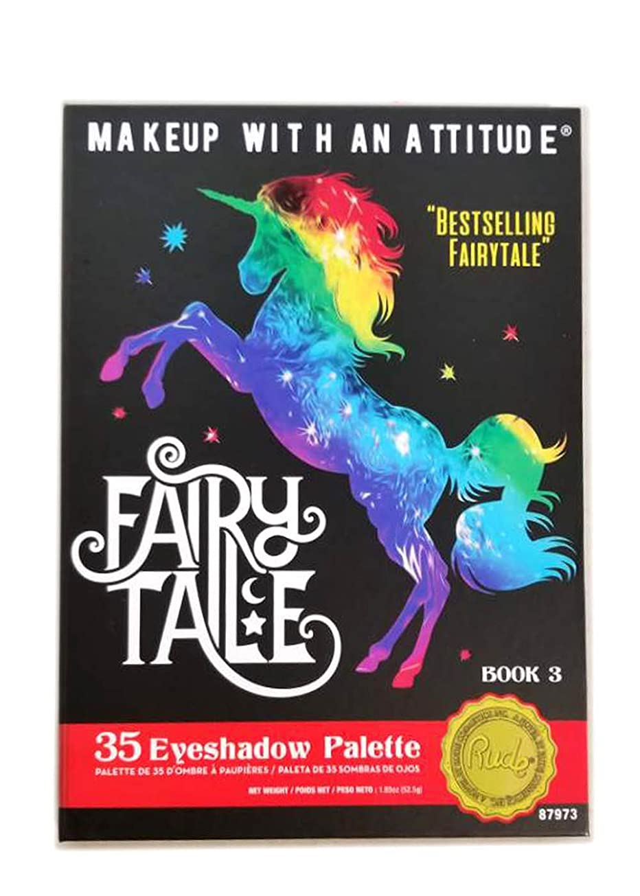 巨人かどうかアジテーションRUDE Fairy Tales 35 Eyeshadow Palette - Book 3 (並行輸入品)
