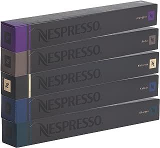 Intenso Cápsulas Nespresso–50Unidades–dharkan–kazaar–Ristretto–Roma–Arpeggio