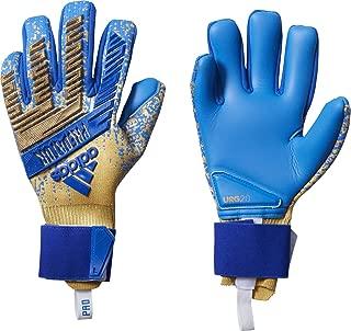 adidas Predator PRO Input Code Champions League Goalkeeper Gloves Metalic Gold/Football Blue