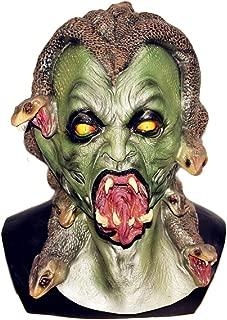 Greek Mythology Snake Gorgon Deluxe Adult Latex Monster Medusa mask