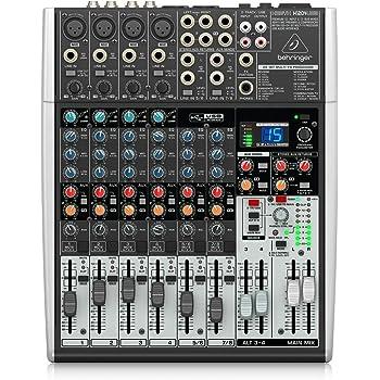 Amazon.com: Behringer Xenyx 1204USB Premium 12-Input 2/2-Bus Mixer: Musical  InstrumentsAmazon.com