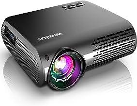 Projector, WiMiUS New P20 7200L Native 1080P Projector, 10000:1 Contrast Support 4K,..