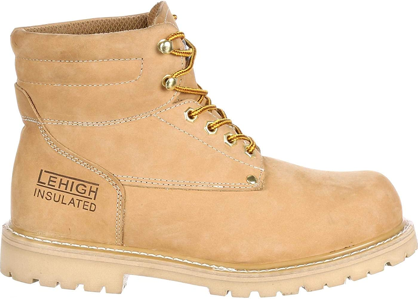 Lehigh Safety Shoes Steel Toe 200G Insulated Work Boot