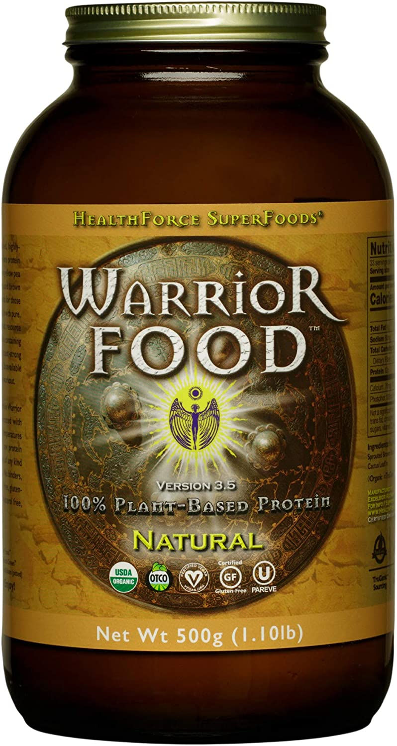HealthForce SuperFoods Warrior Food Natural free Plant 500 Genuine Free Shipping - Grams
