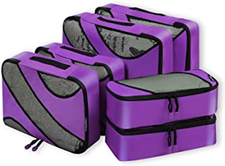 Cats And Roses 3 Set Packing Cubes,2 Various Sizes Travel Luggage Packing Organizers f