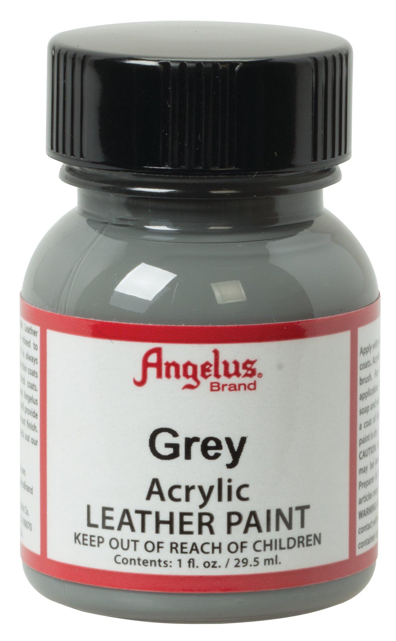 Angelus Acrylic Leather Paint, Grey, 1
