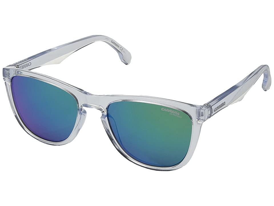 Carrera Carrera 5042/S (Crystal with Green Multilayer Lens) Sport Sunglasses