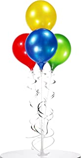PermaShine - Reusable and Helium Free Balloon Bouquet - Permanent Plastic Indoor and Outdoor Balloons