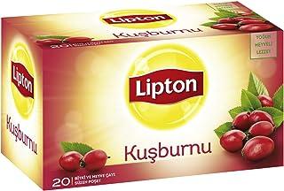 Lipton Kuşburnu Bardak Poşet Bitki Çayı 20'Li