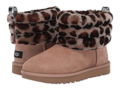 UGG Fluff Mini Quilted (Amphora) Women