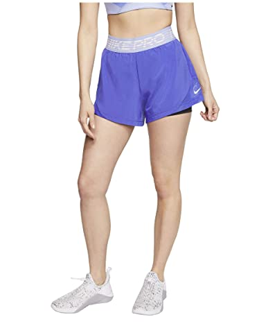 Nike Flex 2-in-1 Shorts Woven Essential (Persian Violet/Black/White) Women