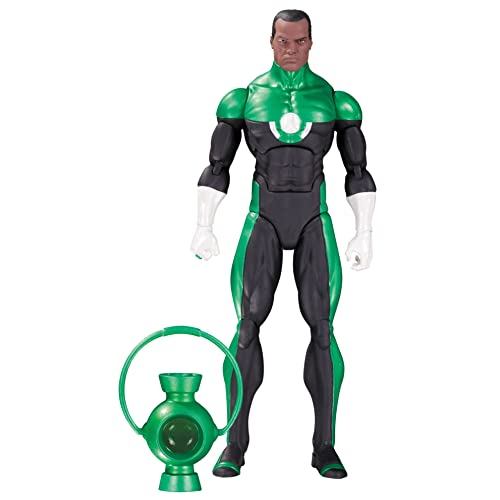 d9351eb3ad29a1 DC Collectibles Comics Icons  Green Lantern John Stewart  Mosaic Action  Figure