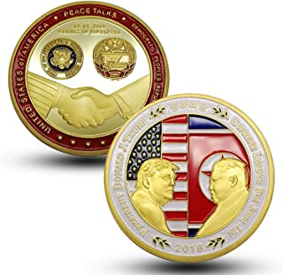 kim jong un and trump coin