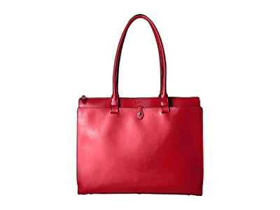Lodis Accessories Audrey RFID Jessica Work Satchel (Red RFID) Satchel Handbags