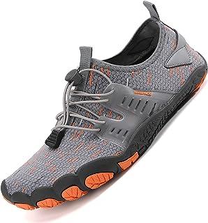 Sixspace Basket Femme Chaussure de Sport Sneakers Tennis Air Course Running Fitness Gym Athlétique Knit Respirante Confort...